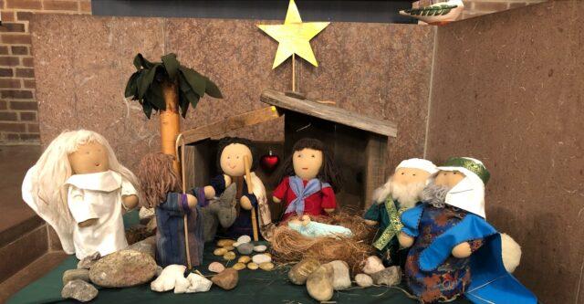 Julevangeliet vid julkrubban